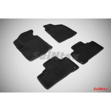 Ворсовые 3D коврики SeiNtex для Ssang Yong Actyon new 2010-н.в.