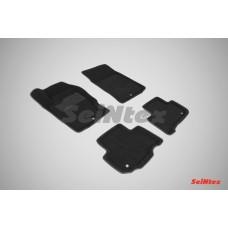 Ворсовые 3D коврики SeiNtex для Ssang Yong Rexton 2012-н.в.