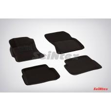 Ворсовые 3D коврики SeiNtex для Subaru Forester III (для АКПП) 2008-2012
