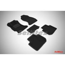 Ворсовые автомобильные 3D коврики SeiNtex для автомобиля Subaru Forester IV 2012-н.в.