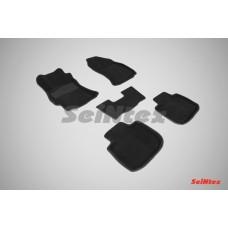 Ворсовые 3D коврики SeiNtex для Subaru Outback 2015-н.в.