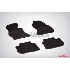 Ворсовые 3D коврики SeiNtex для Subaru XV 2011-н.в.