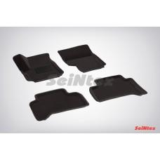 Ворсовые 3D коврики SeiNtex для Volkswagen Amarok 2010-н.в.