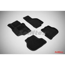 Ворсовые 3D коврики SeiNtex для Volkswagen Golf VI 2008-2012