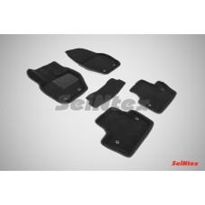 Ворсовые 3D коврики SeiNtex для Volvo S60 2010-н.в.