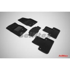 Ворсовые автомобильные 3D коврики SeiNtex для автомобиля Volvo XC90 2002-2014