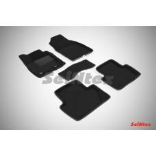 Ворсовые 3D коврики SeiNtex для Ford Ecosport 2014-н.в.