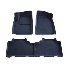 Ворсовые 3D коврики Boratex для SSANG YONG ACTION 2005-2010