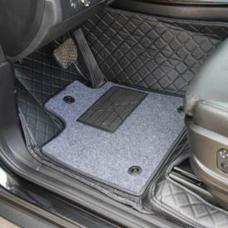 Коврики (кожа + текстиль) для автомобиля NISSAN QASHQAI